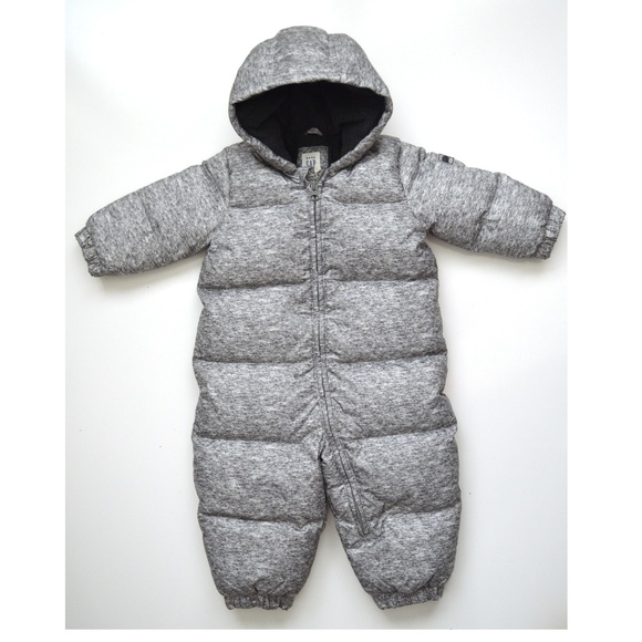 70acc2191 Gap Jackets & Coats | Baby Down Insulated Snowsuit 1218m | Poshmark